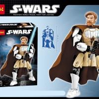 Jual Mainan Edukasi Lego Decool S-WARS 9013 Obi-Wan Kenobi Murah