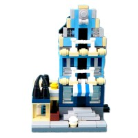 Mainan Edukasi Nano Block Lego City Decool 1108 Market Street