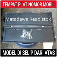 TERLARIS !!! TEMPAT PLAT NOMOR MOBIL MODEL DI SISIP DARI ATAS