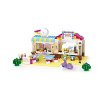 Brick Lego SLUBAN TOKO GIRLS DREAM OUTDOOR INN B0530
