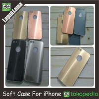 SOFT CASE TPU 3D SHINE IPHONE 5 5S 5G 6 6G 6S 4.7 5.5 INCH IN SOFTCASE