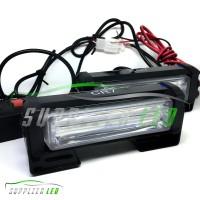 Lampu LED Plasma Blitz Blits Strobo Strobe 17cm Motor Mobil Kedip