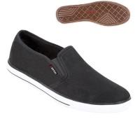 Sepatu Kets Bahan Canvas Slip On ts 0776 Zeintin