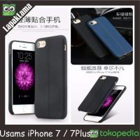 Case Usams Joe Series Litchi Texture Iphone 7/ Iphone 7 Plus Back Case