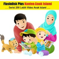 Flashdisk Maxell 16gb plus Video Anak Islami