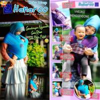 Gendongan Bayi Hanaroo kain kangguru hadap depan baby warp + Tas + CD