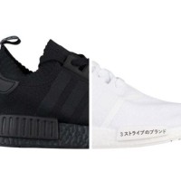 cc7c0af8539e6 Adidas NMD R1 PK Japan Triple Black   White