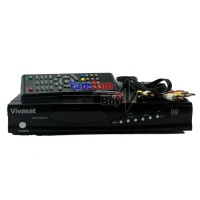 Receiver Parabola Vivasat Dp6 Hd Net Support Power Vu, Cccamd, Bisskey