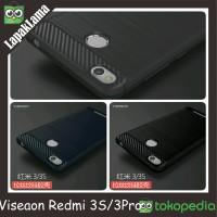 VISEAON SOFT CASE XIAOMI REDMI 3S 3PRO 3 S PRO TEXTURE DRAW ANTI KNOCK