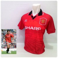 Jual Jersey Retro Manchester united home 1994 Murah