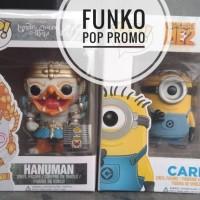 Jual Funko pop promo hanuman n carl minion Murah