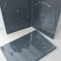 CASING DVD HITAM DOBLE TIPIS