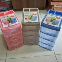 Laci Susun 5 (4+1) kecil OWL Plast /Alfa Mini Container/Mini Container