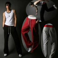 Harga celana dance training jogger olahraga harem baggy sweatpants   antitipu.com
