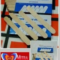 Tong spatel kayu (box) / tounge spatel / stik