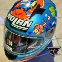Helm Full Face Nolan N64 Marco Melandri Aquarium