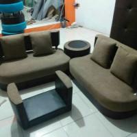 sofa minimalis terbaru / kursi ruang tamu murah sudut L