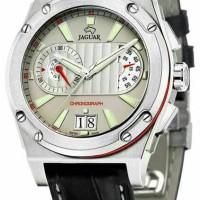 Jam tangan Jaguar j612/2 original leather hitam