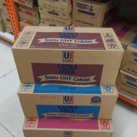 Susu Ultra Uht 24*250ml ( Karton ) / Susu Ultra 250ml