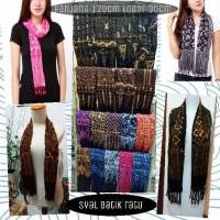 Syal batik ratu / Syal batik paris / Scarf batik / shawl murah (SB7)