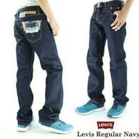 Celana Jeans Levis Pria Model Standar Reguler Basic Clana Panjang