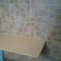 Meja Lipat Dinding / Hemat Ruangan