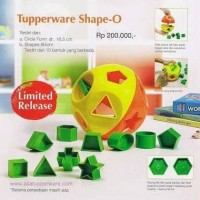 shape o toy promo tupperware indonesia