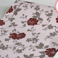 Walpaper Sticker Dinding bunga mawar pink(RD WS 18)