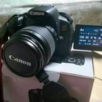 KAMERA DSLR CANON EOS 650D REBEL T4i Kit 18-55 mm IS