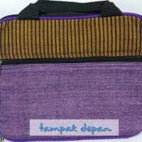 Tas Laptop Lurik Yogyakarta