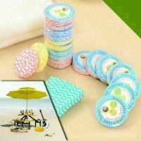 Compressed magic towel / handuk penyerap serbaguna