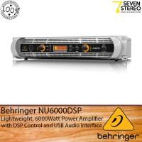 Behringer NU6000DSP 6000 Watt Power Amplifier With DSP And USB