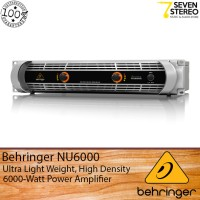 Behringer NU6000 Portable Power Amplifier 6000 Watt