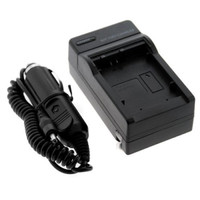 Camera Travel Charger for Sony DSLR with Car - NP-FW50 Hitam