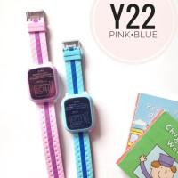 smartwatch jam kemananan GPS anak Y22 waterproof komunikasi kids Q50