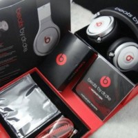 New Beats Pro by Dr. Dre Headphones (Black Silver) Murah