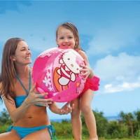 Bola Pantai / Renang Hello Kitty Beach Ball 51cm - INTEX #58026
