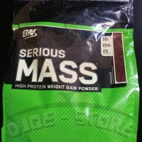 NEW STOCK - Serious Mass CHOCOLATE 12 Lbs Optimum Nutrition ON SM
