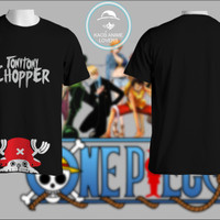 KAOS BAJU PAKAIN CUSTOM ANIME TONY CHOPER ONE PIECE
