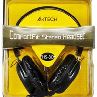 A4tech HS30 headset A4tech HS-30 Gaming headphone