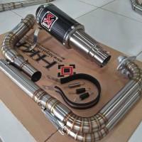 Akrapovic GP M1 Lorenzo Carbon Kawasaki Ninja 250 FI