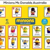 Jual Happy Meal Minion Mcd Despicable Me 2015 Australia Murah