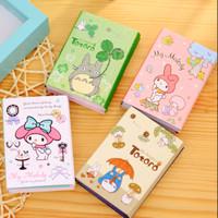 Stick Note/ Memo Melody dan Totoro Lipat 6