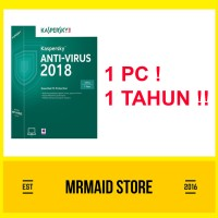 Kaspersky Antivirus 2018 1 PC 1 Tahun