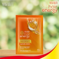 Makarizo Hair Energy Masker Rambut - Royal Jelly Extract Sachet 60 g
