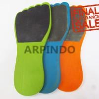 1 set Amplas kaki (3 Warna)   Set Wooden Foot Filr (3 buah)