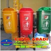 Gambar Tempat Penampungan Sampah / Tempat Sampah Fiberglass