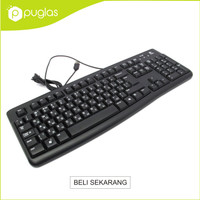 Keyboard USB Logitech K120 For PC Laptop Notebook