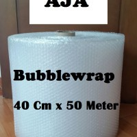 Jual BUBBLEWRAP uk. 40 Cm x 50 Meter PLASTIK BUBBLE WRAP MURAH HARGA PABRIK Murah
