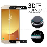 Tempered Glass Warna 3D Curved Full Samsung J5 Pro (Anti Gores Kaca)